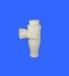 供應寶塑牌PVC旋流三通PVC三通PVC加強型旋流三通PVC管件