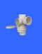 供應寶塑牌PVC同層外帶積水盆內插四通組套PVC預埋四通PVC四通
