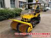 力争上游合肥WX-150型ATV全地形车式扫雪除雪机除雪设备滚刷扫雪机