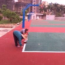 悬浮拼装地板安装运动地板施工幼儿园运动场地
