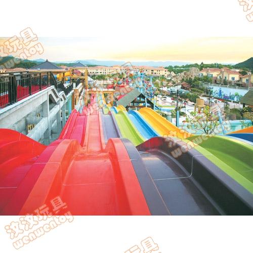 舟山水上乐园游乐设施生产水上大型滑梯供应水上乐园滑滑梯