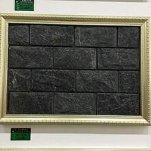 文化石厂家咖啡色蘑菇石太行红蘑菇石墙面装饰石材图片