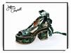 美国jeffreycampbellJC0512孔雀花女鞋