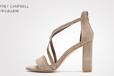 欧美时髦独特女鞋,以履带做为设计元素的性感高跟鞋