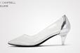 简约纤细的高跟鞋,展现欧美潮流时尚女鞋的魅力