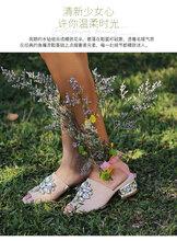 歐美時尚女鞋品牌JeffreyCampbell,新款時髦涼鞋透氣顯氣質圖片