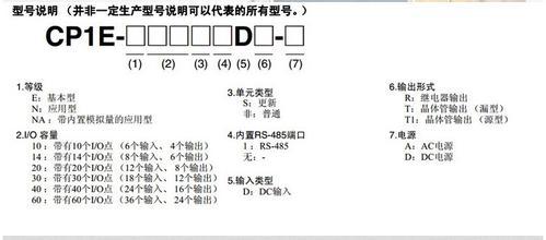 【供应欧姆龙可编程控制器cp1e-e30sdr-a现货库存