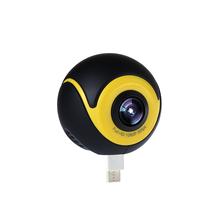 360°全景摄像头VR全景相机手机伴侣一键分享在线直播工厂直销
