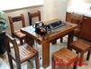 老船木大船龙骨高档霸气茶桌别墅茶台可打造心目中的家具