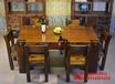 哈爾濱老船木茶桌餐桌椅組合批發仿古泡茶桌中式明清家具實木功夫簡約茶臺