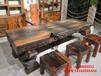 铜川老船木尚亿家具茶桌椅组合批发实木风化型功夫茶几茶桌茶台特价
