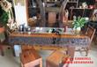 山西沂州尚亿老船木茶桌椅组合批发龙骨茶台实木功夫泡茶桌大堂室内外茶几古典茶几
