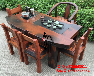 江苏扬州尚亿老船木家具厂家直销实木功夫茶几批发原生态茶台茶桌椅客厅茶几
