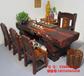 天津滨海老船木茶桌椅组合批发仿古茶台茶几实木家具茶艺桌