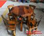 西宁直销老船木茶桌批发原木异形船木茶几实木功夫茶台椅组合原生态户外泡茶桌