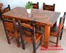 西安直銷老船木茶桌椅組合批發仿古泡茶桌中式明清家具實木功夫簡約茶臺