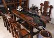 杭州老船木花架涼亭循環流水茶桌歐式茶幾辦公會客茶桌
