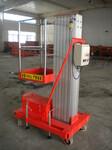 可定制各种型号铝合金升降机单桅柱4-10米高空作业升降平台图片