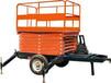 升降机厂家供应四轮移动式升降平台四轮移动式导轨电动升降平台