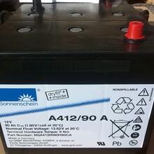 上海德国阳光蓄电池A412/90AEPS应急电源系统后备蓄电池