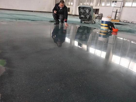 秦皇岛新建楼层水泥密封硬化地面施工