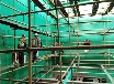 吸收塔内壁乙烯基树脂玻璃鳞片面涂防腐维修