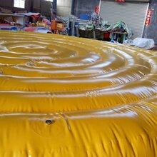厂价定制供应施工用防护安全气垫运动气囊图片