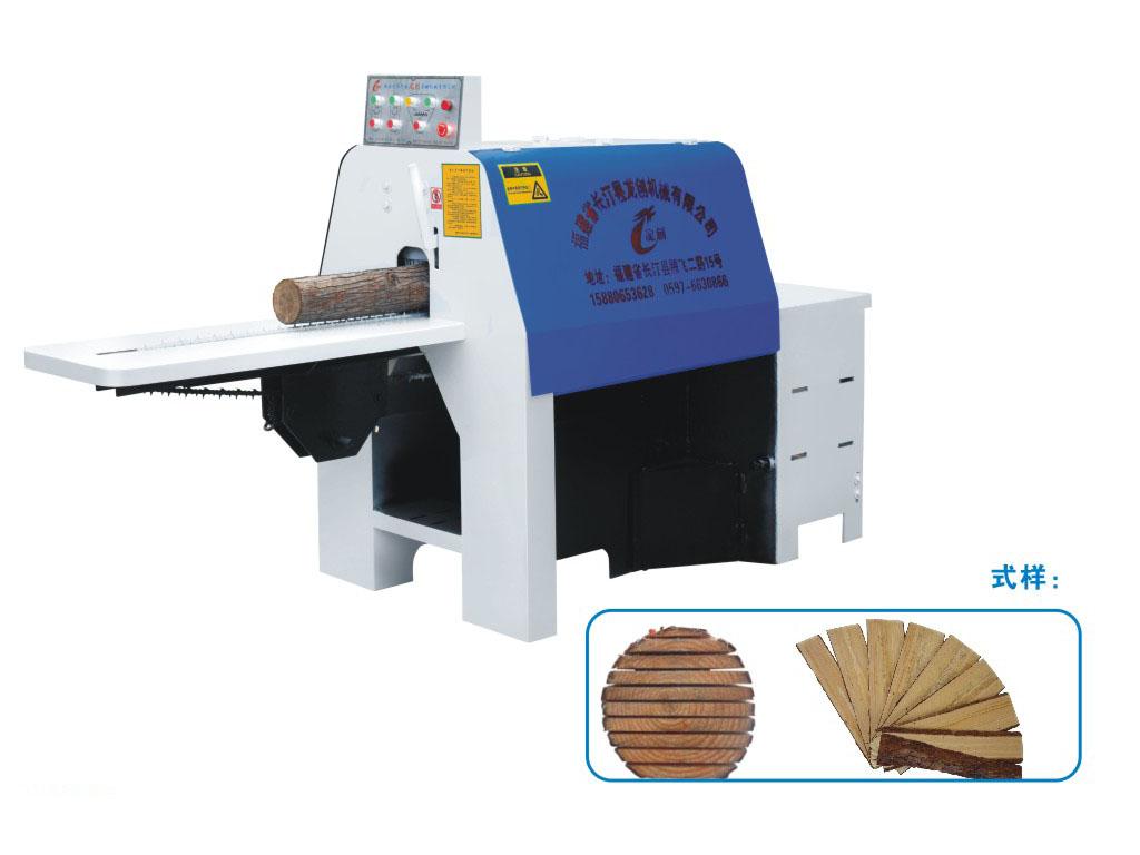 龙创木工机械原木多片锯圆木多片锯厂家卧式mjl8--18立式多.