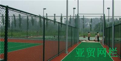 虹口网球场围网定做网球场围网施工安装方案-安平亚贸网球场围网厂围网用途好处