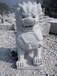 花崗巖石獅子墓地石獅子陵園擺放石獅子