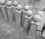 抛光石球石柱图片芝麻白500CM石球石球厂家批发