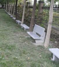 石材长条椅,石材石墩,石材防撞柱子