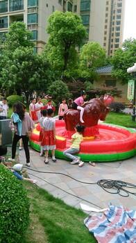 武汉充气攀岩娃娃机斗牛机拉斯维加斯飞镖机泡沫机出租