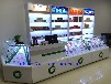 供应昆明市木质推拉式烟柜精品玻璃柜台超市专用烟柜收银台