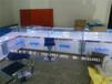 供应山东手机柜台三星小米展示柜定制LOGO手机柜
