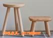 北欧原始素纯白橡木手工矮凳化妆方凳儿童宝宝凳子白胚茬批发订做