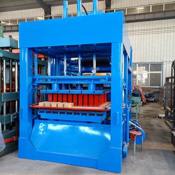 混凝土多功能全自动砖机水泥免烧砖机建筑垃圾液压制砖机