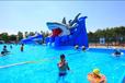 郑州腾龙充气滑梯支架游泳池水上闯关设备厂家直销价格优惠