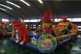 广场儿童充气城堡乐园多少钱室外露天充气乐园儿童充气城堡价格