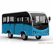 桐城11座加门电动观光车图片