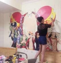 墙绘,3D立体画,装饰立体画