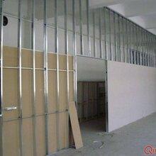 专业无锡轻钢龙骨吊顶隔墙,厂房装修图片