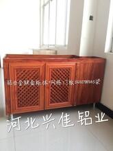供应铝合金橱柜型材铝合金橱柜门板型材整体橱柜型材质优价廉