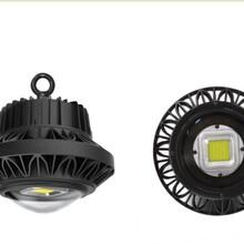 长春高光效进口普瑞芯片圆形UFO黑色挂钩式E40球泡灯价格20W30W50W60WLED工矿灯厂家