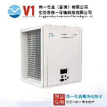 管道式电子空气净化消毒器产品特点丨中央空调空气净化装置