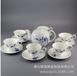 廠家批發骨質瓷茶具套裝水點桃花茶壺茶杯定制陶瓷創意禮品茶具