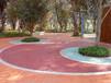 彩色透水胶凝料,甘肃彩色透水地坪材料施工