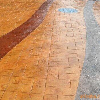 彩色壓花地坪,甘肅壓模地坪,西安透水混凝土,蘭州透水地坪