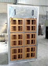 武汉蓝海环保漆雾净化设备江汉车架高温烤漆烤漆房订制