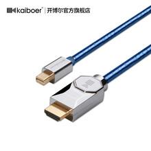 開博爾MiniDP轉HDMI線電腦接電視4K60Hz顯示器光纖連接線高清線圖片